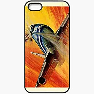 Personalized iPhone 5 5S Cell phone Case/Cover Skin Airport 77 Black