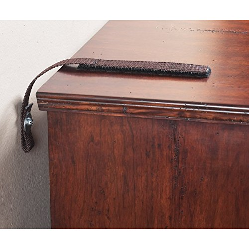 4162 15 pulgadas Kit Muebles Correa, marrón antiguo