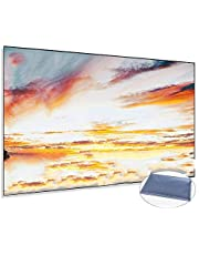 80inch Anti-Light Projection Screen for LED Projectors