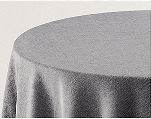 Falda para Mesa Camilla Modelo Deluxe 793, Color Gris 710, Medida Redonda 80/223cm Ø (También Disponible en Distintos Colores, Formas y Medidas): Amazon.es: Hogar