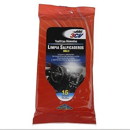 Toallitas limpia-salpicaderos 3cv 15 uds