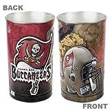 NFL Tampa Bay Buccaneers Red Tapered Wastebasket