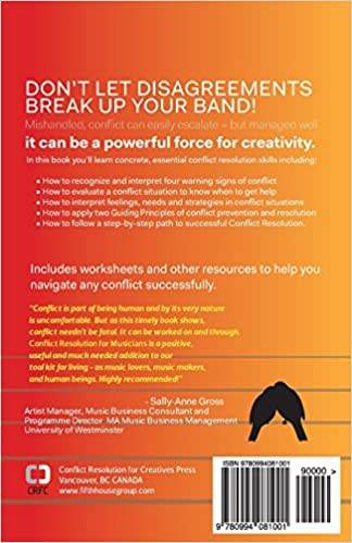 Amazon.com: Conflict Resolution for Musicians (and Other Cool ...