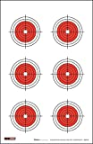 ez2c targets - EZ2C 25, 50, 75 Yard Rifle Targets (25 Pack) Long Range Shooting Paper Targets (100 yd) | Bullseye Target Style | High Visibility Firearms, Pistol, Airsoft and BB Gun Rifles Targets 11
