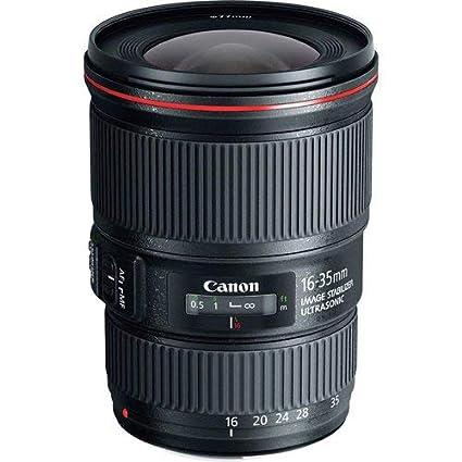 Canon EF 16-35 mm f:4L IS USM - Objetivo para Canon (Diámetro 77 ...