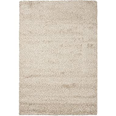 Safavieh California Shag Collection 9'6  x 13' Area Rug, Beige