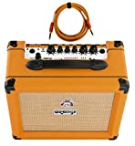 Orange Crush 20RT 1x8'' 20-Watt Combo with Reverb and Tuner Free Cable Bundle