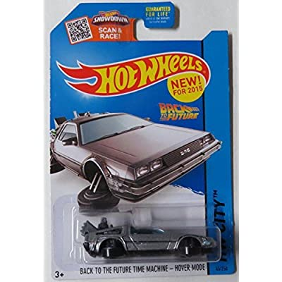 Hot Wheels, 2015 HW City, Back to the Future Time Machine Hover Mode Die-Cast Vehicle #45/250: Toys & Games [5Bkhe0302925]
