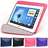 Bubblegum Pink Envelope Tablet Case for Apple iPad Pro 9.7, Air 2, iPad Air 2 9.7-Inch with Hidden Built-in Stand and Bonus iPhone 6 6s 4.7-inch Credit Card Case