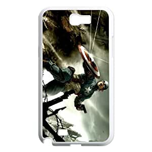 Captain America Samsung Note2 N7100 phone case cell phone cases&Gift Holiday&Christmas Gifts NVFL7N8824472