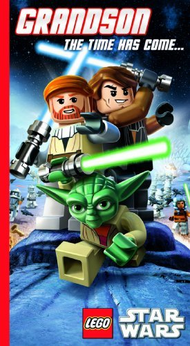 Lego Star Wars Grandson Greeting Card