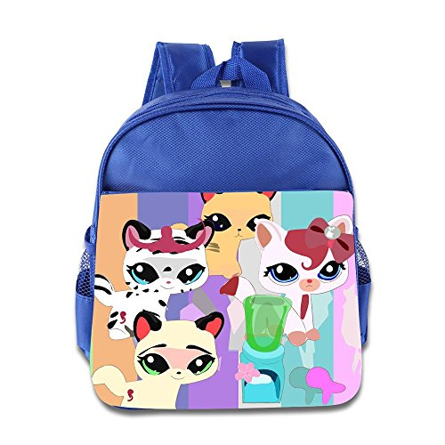 Toddler Kids Littlest Pet Shop School Backpack Cartoon Ch...