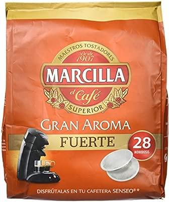 Marcilla Senseo Fuerte - 28 Monodosis - Pastillas superior ...