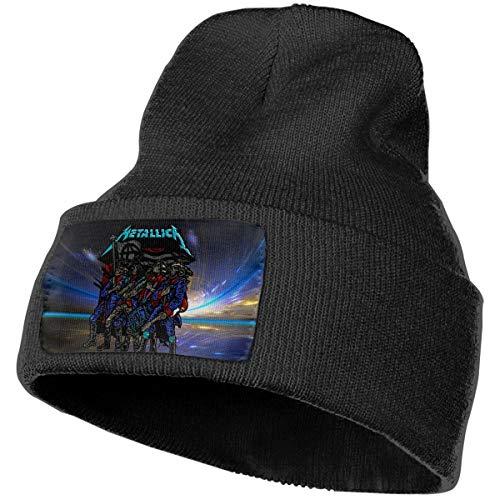 LixuA Metallica 2017 Gillette Stadium Foxborough Unisex Warm Winter Hat Knit Beanie Skull Cap Cuff Beanie Hat Winter Hats