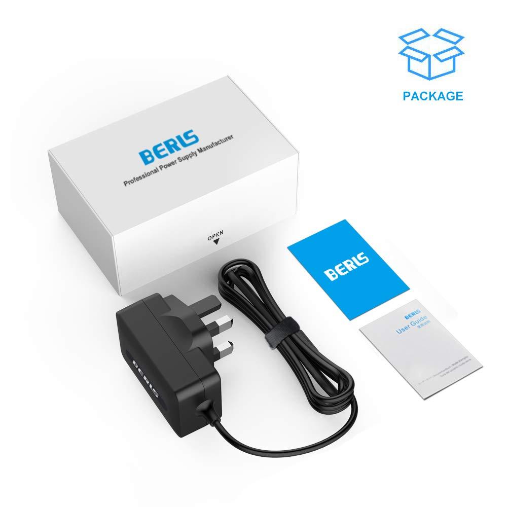 BERLS 6v Power Adapter Charger Replacement Power Lead for Motorola MBP26 MBP33 MBP35 MBP36 MBP36PU MBP41 MBP41BU MBP41PU MBP43 MBP43BU Digital Video Baby Monitor Power Supply