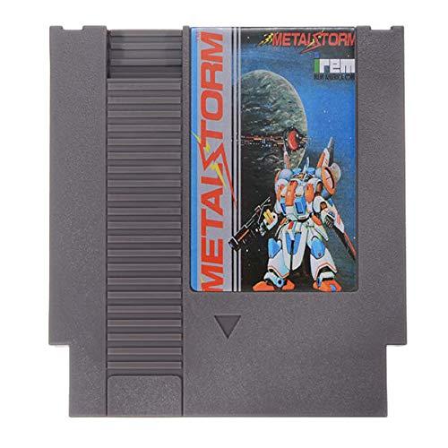 Metal Storm 72 Pin 8 Bit Game Card Cartridge for NES - Retro Games Accessories Cartridge For Nintendo - 1 x Metal Storm Game Cartridge