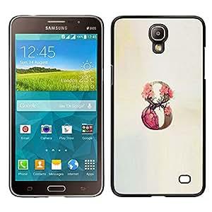 Stuss Case / Funda Carcasa protectora - 9 Infinity Rose Primavera Beige - Samsung Galaxy Mega 2
