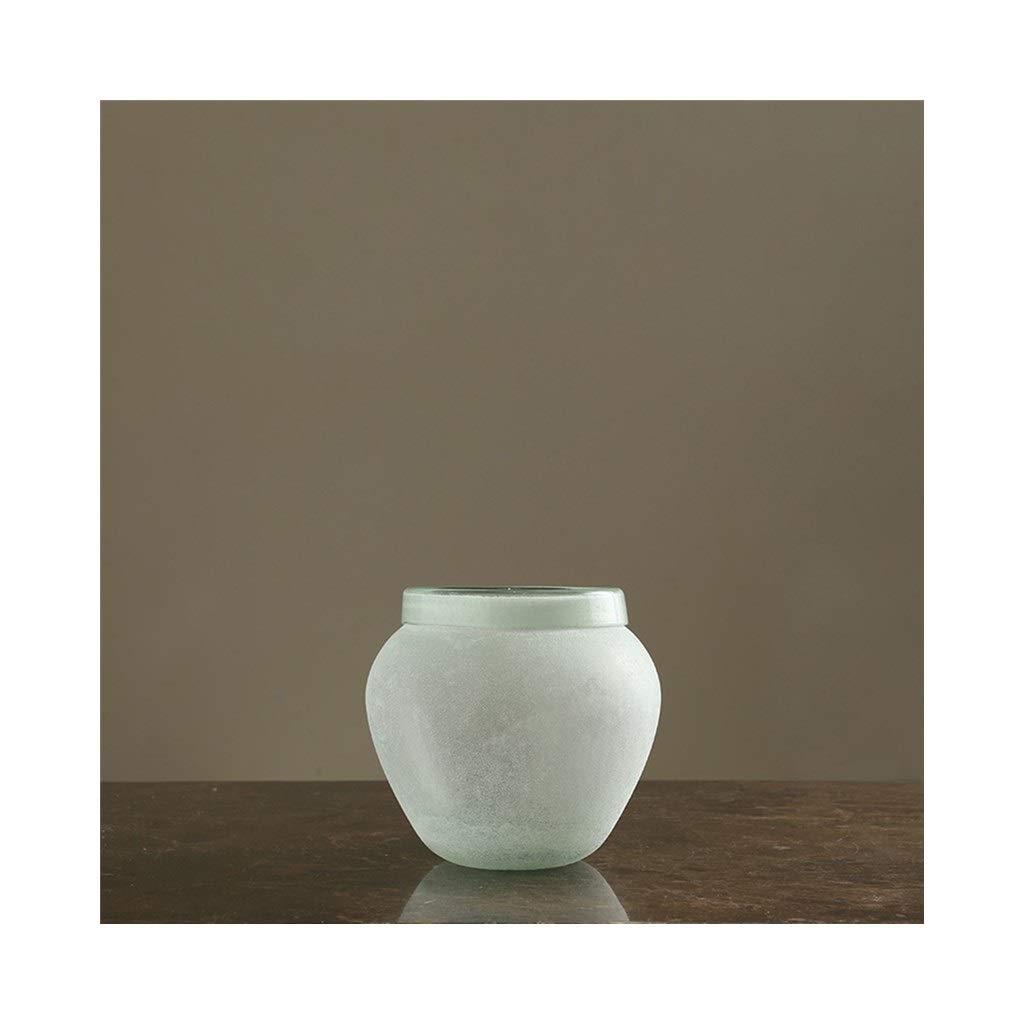 ガラス花瓶北欧クリエイティブリビングルーム花瓶アメリカの家のテーブルデコレーション (Edition : A) B07T1G9NND  A