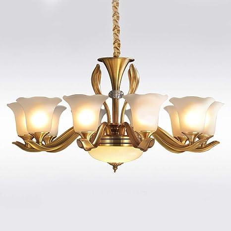 TXDZ ® Luxury Trichromatic Dimming Araña de iluminación ...
