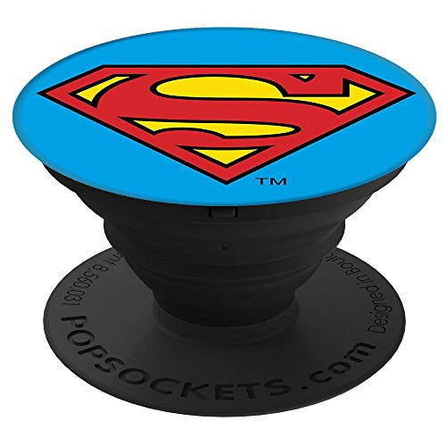 PopSockets: Collapsible Grip & Stand for Phones and Tablets - Superman Icon by PopSockets