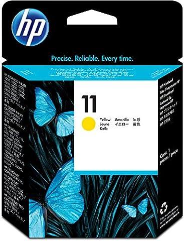 HP 11 Yellow Original Printhead (C4813A) (Hp Cartridge 10)