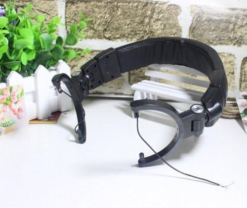 MMOBIEL Repuesto Protector de Diadema Auricular con Coj/ín Compatible con Bose QuietComfort QC15 QC2 Negro