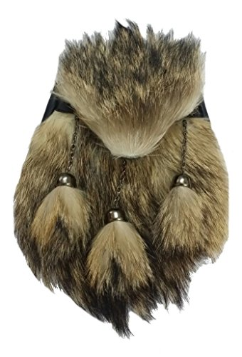 Fur Scottish a Fox monta para completo Vestido de hombre For Plaid de Kilt 67g4SqwxnB