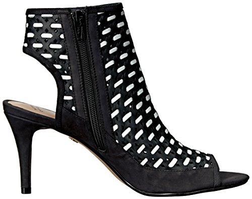À Talons Nina Noir blanc Femmes Chaussures Kristene q88x6Ft