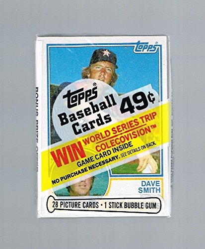 Topps Baseball Cello - 1983 TOPPS BASEBALL CELLO PACK - 1 PACK OF 28 CARDS