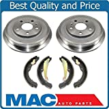 Brake Drums Brake Shoes For 2011-2012 Volkswagen Jetta 2.0L 2.5L With Rear Drum Brakes
