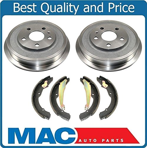 Volkswagen Brake Drum - Brake Drums Brake Shoes For 2011-2012 Volkswagen Jetta 2.0L 2.5L With Rear Drum Brakes