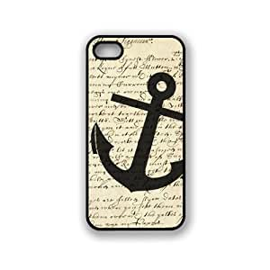 CellPowerCasesTM Vintage Anchor Paper Case For Ipod Touch 5 Cover - Fits Case For Ipod Touch 5 Cover & Case For Ipod Touch 5 Cover S