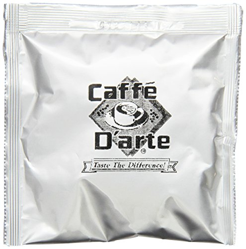 Caffe D'arte Firenze Northern Italian Blend Expresso, 45mm-Hard Espresso Pods (Pack of (0.25 Ounce Pods)