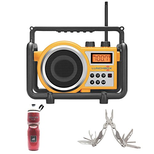Sangean LB-100 Compact AM/FM Ultra Rugged Radio Receiver + S