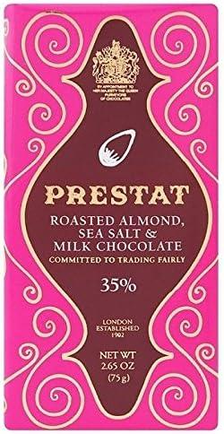 Prestat Chocolate Con Leche De Almendras Asado Mar Barra De Sal ...
