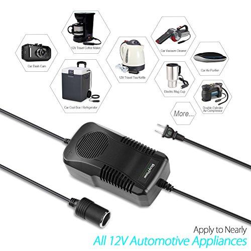 AC to DC Converter RoyPow 180W (Max 200W) 12V15A Power Supply Adapter Transformer 100V~120V to 11V/12V/13V/14V with Car Cigarette Lighter Socket by Roypow (Image #1)