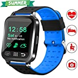 "Best Health Fitness Trackers - 1.54"" Smart Watch Health Fitness Tracker with Blood Review"
