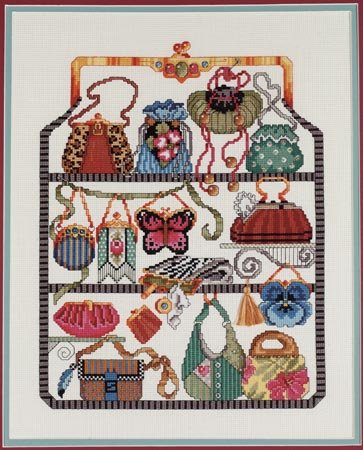 Purse Collection Counted Cross Stitch Kit