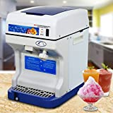 Super Deal NEW Commercial Ice Shaver Snow Cone Maker Ice Shaving Machine Tabletop Shaved Ice Crusher, 265lbs 250W Perfect For Parties Events