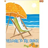 Premier Kites 52783 House Brilliance Flag, Welcome to The Beach, 28 by 40-Inch Review