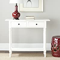 Safavieh American Homes Collection Rosemary Distressed Cream Console Table