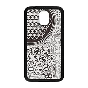 Danny Store Bring Me The Horizon Protective TPU Rubber Back Fits Cover Case for Samsung Galaxy S5