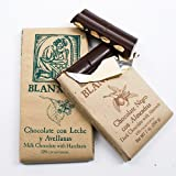 Chocolate Bar with Nuts by Blanxart - Dark with Almonds (7 ounce)