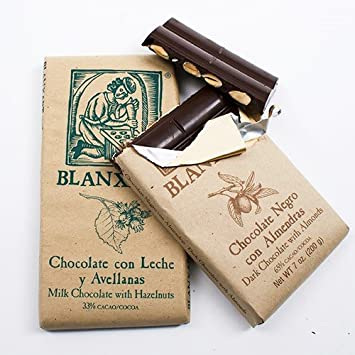 Chocolate Bar with Nuts by Blanxart - Milk with Hazelnuts (7 ounce) by Blanxart
