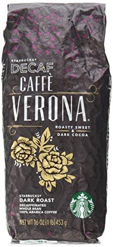 Starbucks Decaf Caffe Verona®, Whole Bean Coffee (1lb)
