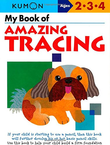 My Book of Amazing Tracing (Kumon Workbooks): Kumon Publishing ...