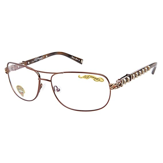 52fe4f263974 Image Unavailable. Image not available for. Colour  ED HARDY Mens   Ladies  Vintage Tattoo Designer RX Eyewear ...