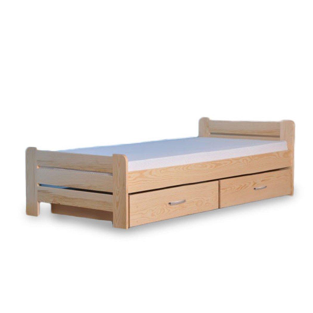 Cama juvenil habitaciones dormitorio cama individual Madera ...