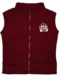 Creative Knitwear University Of Montana Grizzlies Newborn Infant Baby Polar Fleece Vest