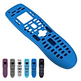 Silicone Case for Logitech Harmony 650 ,Logitech Harmony 700, Anti- Dust and Anti-Drop Silicone Protective Case Cover for Logitech Harmony 650 ,Logitech Harmony 700 Remote Controller (Dark blue)